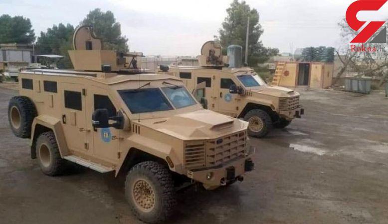 آمریکا به «شورای نظامی منبج» در سوریه نفربر زرهی داد