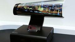 ال جی تلویزیون لوله شونده عرضه می کند