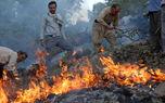 وقوع 110 فقره آتشسوزی در زاگرس طی هفته گذشته