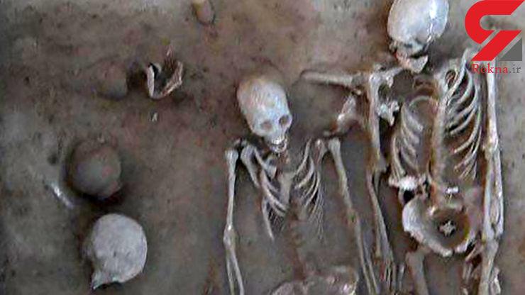دفن جسد عاشق و معشوق معروف