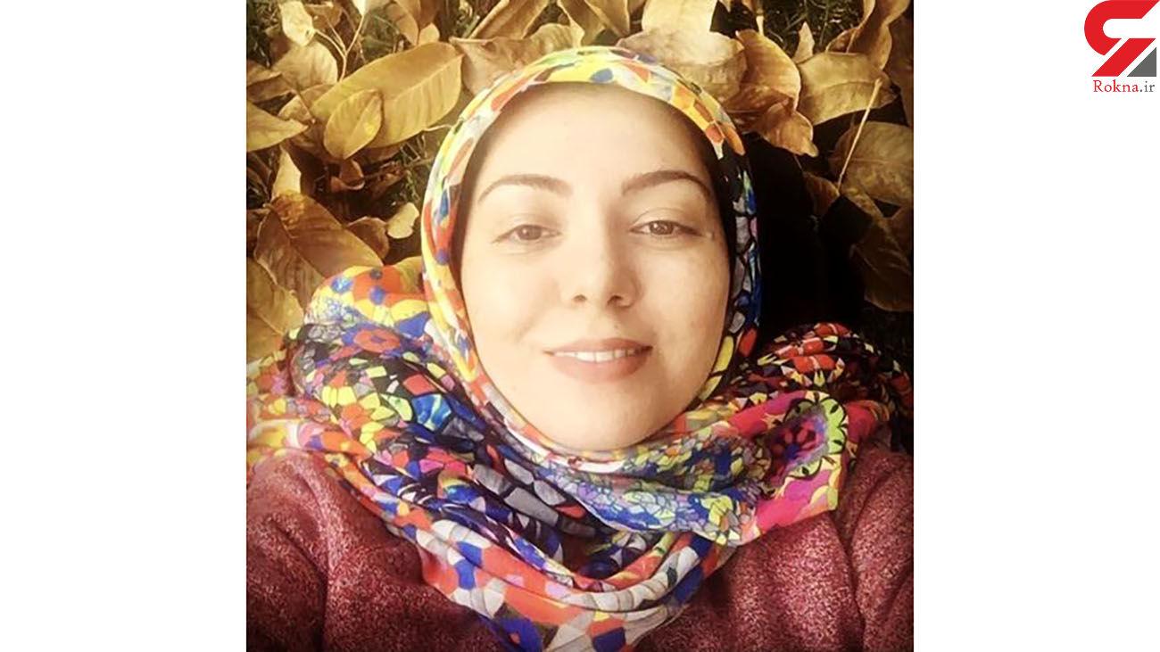 آزاده نامداری در میان برگ های پاییزی + عکس