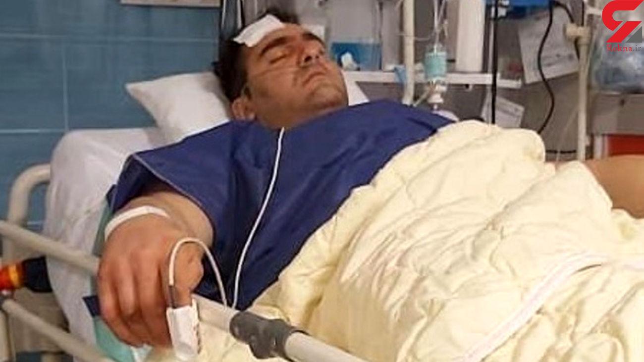 اولین فیلم از اظهارات قهرمان قویترین مردان ایران بعد از زنده ماندن / سوء قصد بود!
