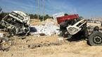 تصادف مرگبار دو تریلر در بوشهر