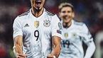 پیروزی پرگل آلمان در خانه مقابل آذربایجان
