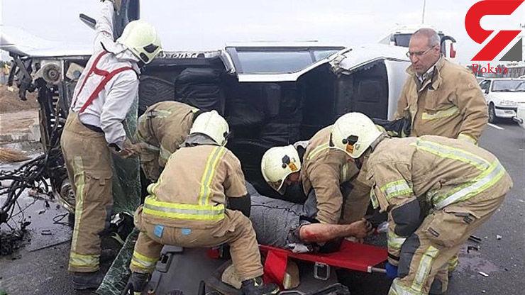 تصادف در محور مراغه ۳کشته و ۴ زخمی برجای گذاشت
