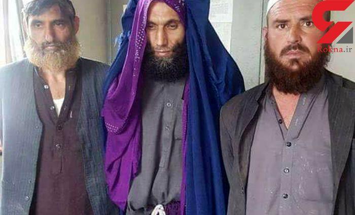 مرد پلید در لباس زنانه چه نقشه ای داشت / او افغان است + عکس بدون پوشش