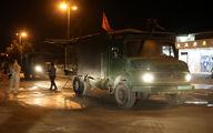 ضدعفونی و گند زدایی معابر و اماکن عمومی بندر لنگه