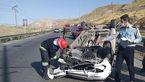 تصادف خونین در جاده تبریز با 2 مصدوم