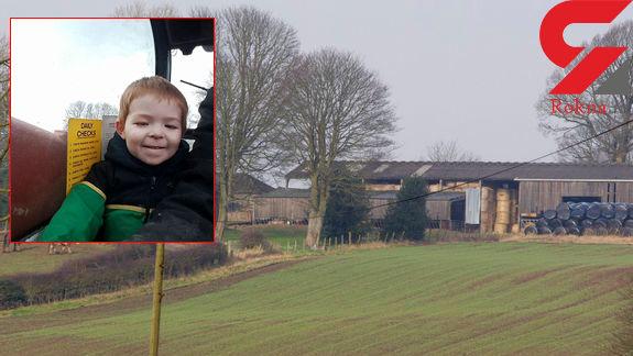 پدر بیاحتیاط پسرش را با کامیون زیر گرفت+ عکس