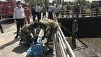 عکس جنازه مرد تهرانی که در چاه 10 متری جان باخت