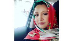 ظاهر متفاوت گوینده  زن ایرانی خارج از تلویزیون +عکس