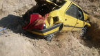 عکس / مرگ 3 مرد ایرانی و خارجی در پژو 405