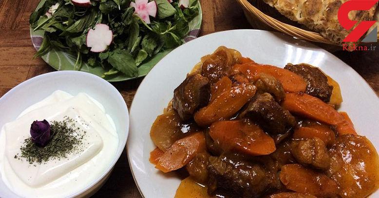 تاس کباب یک غذای سنتی و مفید+طرز تهیه