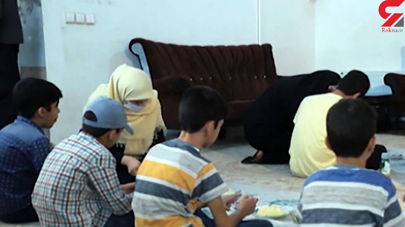 جوان همدانی سرپرست 40 کودک یتیم ! / درس انسانیت! + فیلم