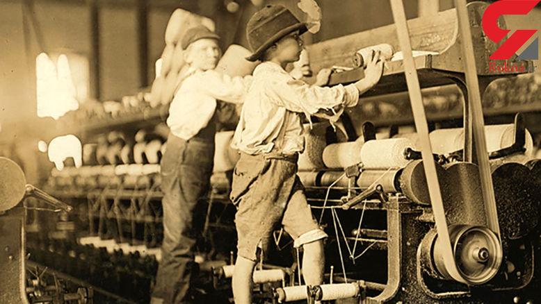 عکس های دیده نشده از کودکان کار 100 سال پیش