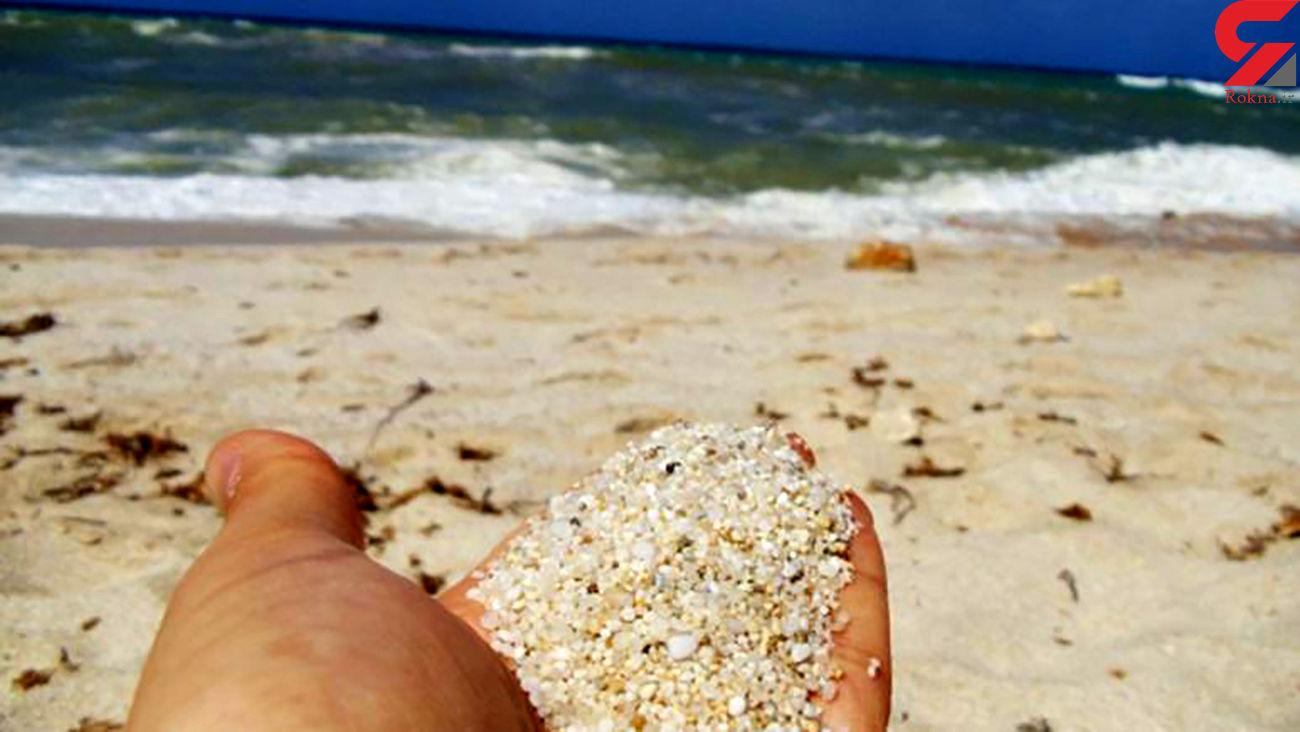 سارق 2 کیلو شن ساحل جزیره ای در ایتالیا 1000 یورو جریمه شد !