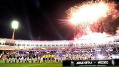 آرژانتین 2 -مکزیک 0 ؛ نبرد مربی موقت ها به سود آلبی سلسته