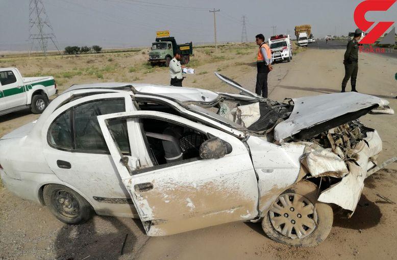 کشته شدن 10 زن و مرد در حوادث جاده ای سیستان و بلوچستان