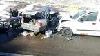تصادف زنجیرهای در آزادراه قزوین ـ زنجان ۱۴ مصدوم برجای گذاشت