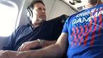 دوربین مخفی داخل هواپیما / قربانی مدت 15 ثانیه بهت زده بود + فیلم و عکس