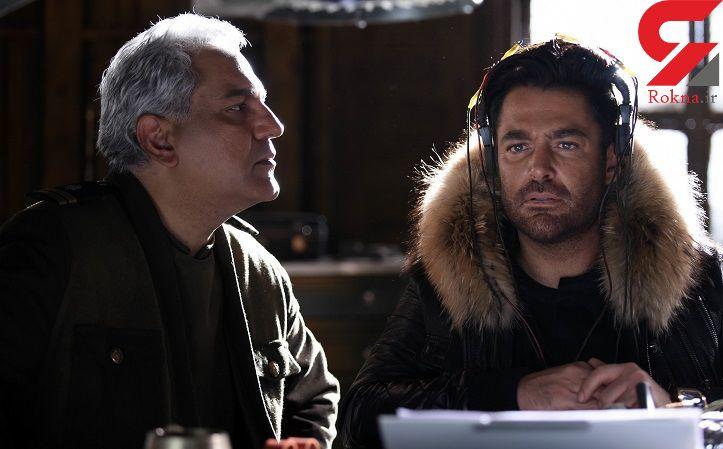 چهره متفاوت مهران مدیری و محمدرضا گلزار در یک فیلم سینمایی + عکس