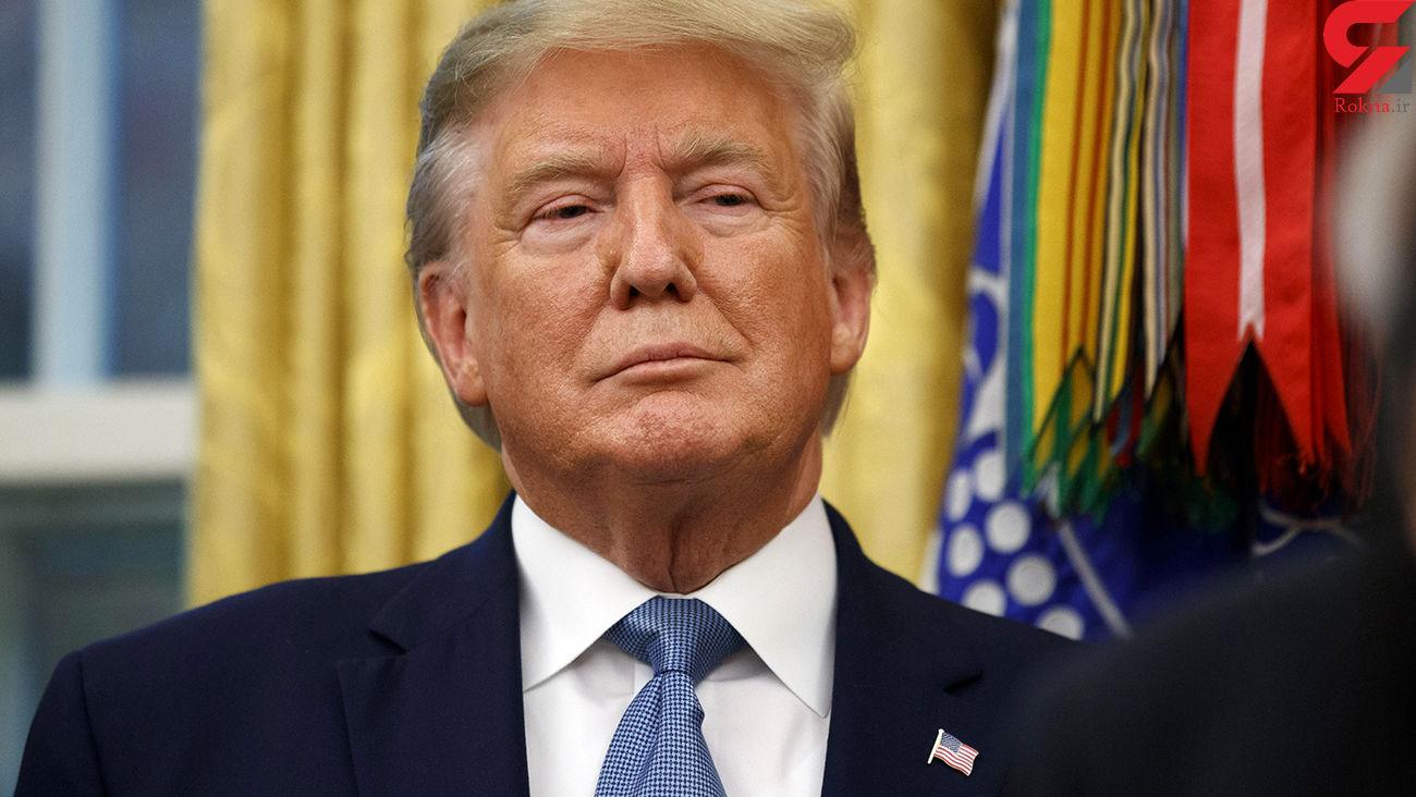 سخنرانی ترامپ از پشت شیشههای ضدگلوله: شکست را نمی پذیریم