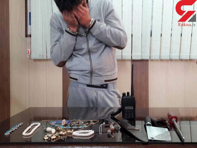 شلیک پلیس تهران گروکانگیر ساطور به دست را از پا در آورد+عکس