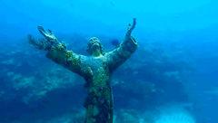 کشف تصویر عیسی مسیح زیر آب+عکس