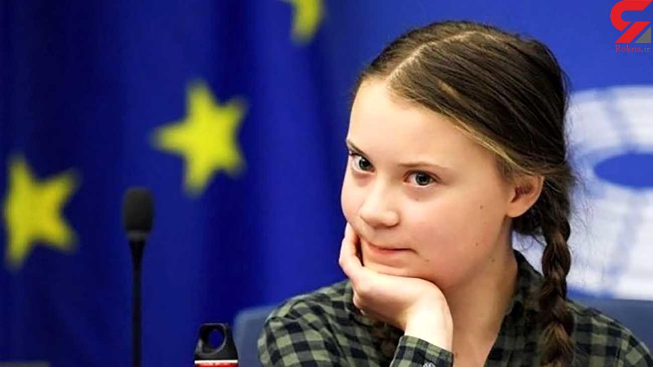 حمایت نوجوان فعال محیط زیستی از بایدن