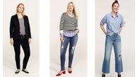 کلکسیون شلوار جین زنانه سایز بزرگ منگو Mango