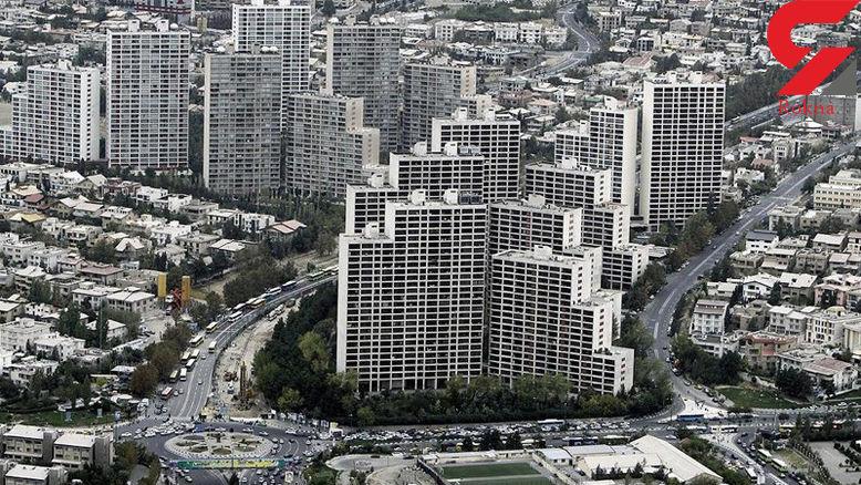 تفاوت ۹ میلیون تومانی قیمت هر متر آپارتمان در شمال و جنوب تهران