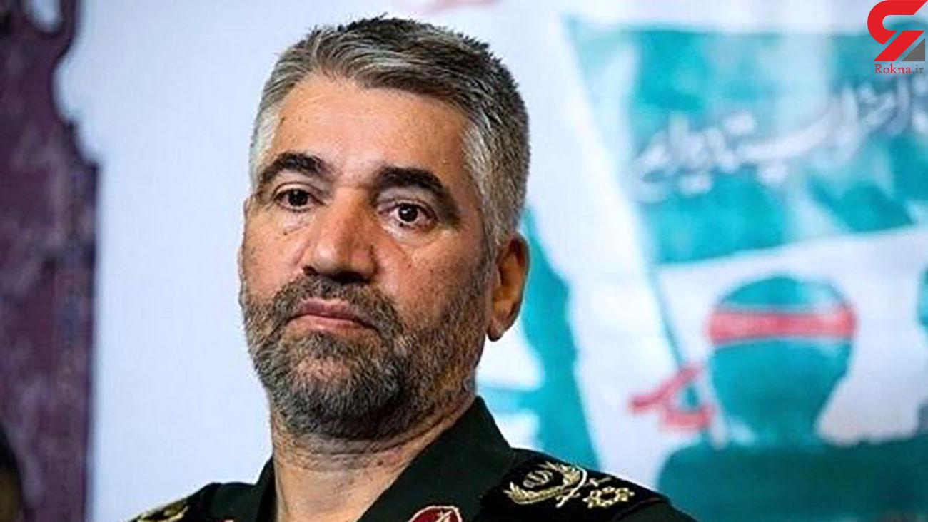 سردار فضلی : کشور در بهترین شرایط دفاعی قرار دارد