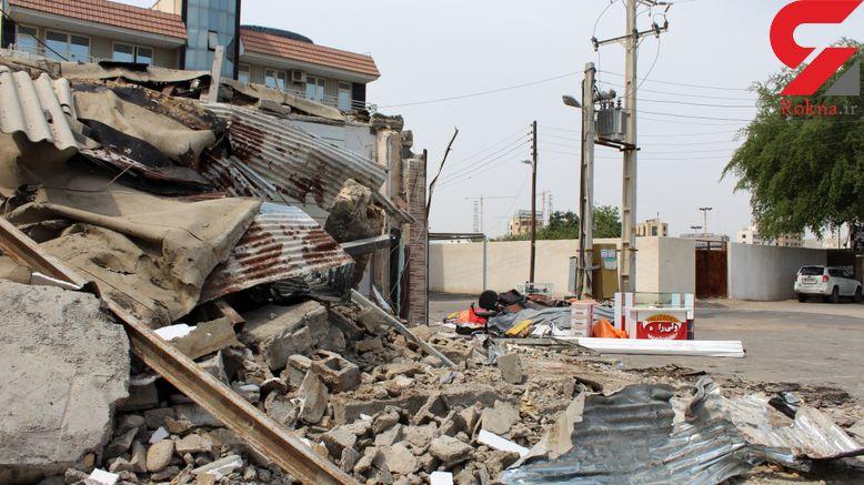 تخریب یک مغازه غیرمجاز در دماوند به دستور دادستانی