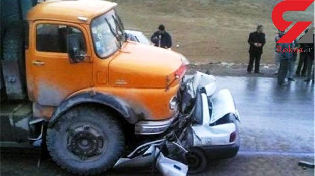 تصادف در جاده مهریز / یک کشته