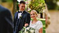 عروس به جای خودش یک مرد را در لباس عروسی کنار داماد فرستاد + عکس های باورنکردنی