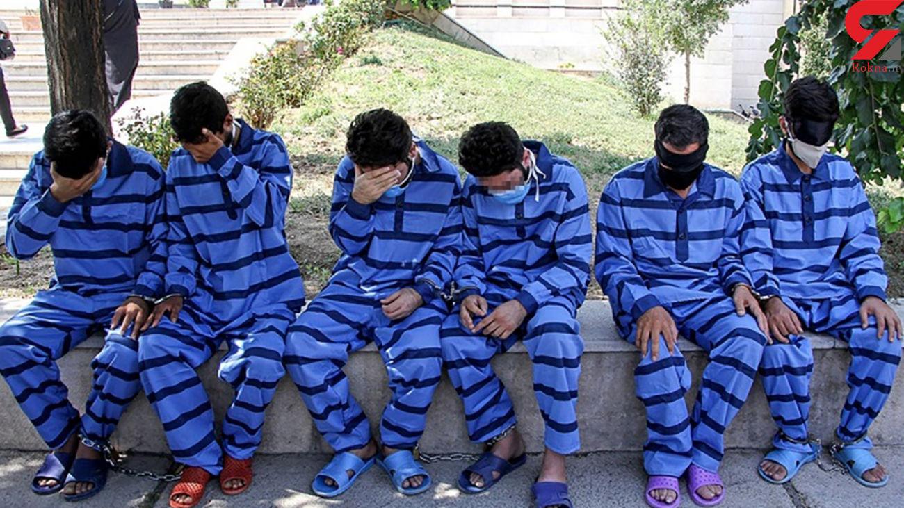 اعضای شبکه سارقان خانه باغها در مهاباد دستگیر شدند