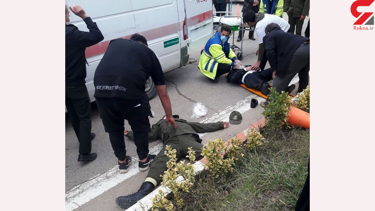 شکستن دست و پاهای ۲  پلیس در حمله مرد مازندرانی + عکس و جزییات