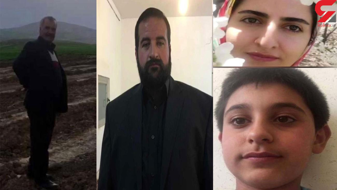 قتل 5 عضو یک خانواده در همدان / اجساد یکی پس از دیگری پیدا شدند + فیلم و عکس