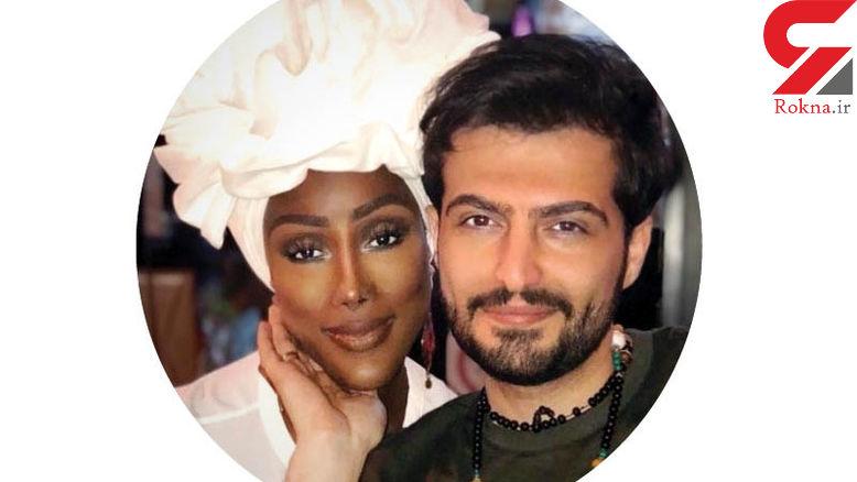 حضور  ملکه زیبایی آفریقا در قهوه خانه سرشناس تهران! + فیلم