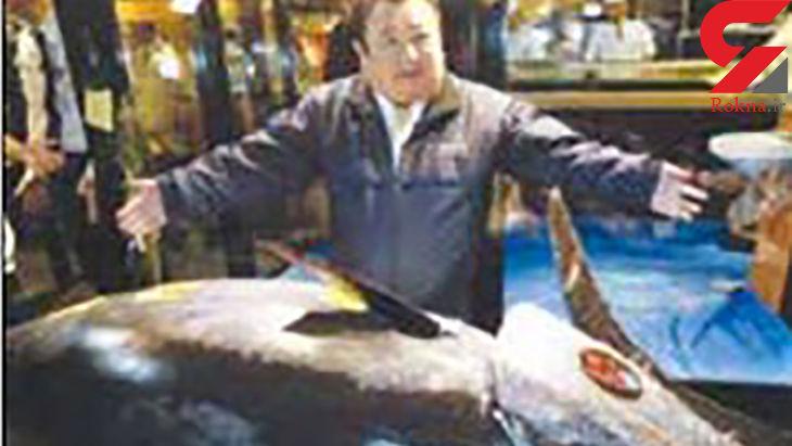 این مرد با خرید ماهی به قیمت 3 میلیون دلار رکورد ثبت کرد+ عکس
