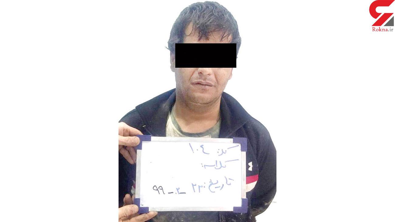 این مرد مخوف یک زن زندانی را در مشهد فراری داد +عکس