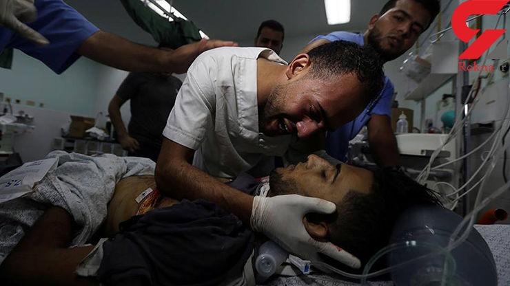 برگزاری بیستمین راهپیمایی بازگشت در نوار غزه/۲ فلسطینی شهید و ۳۰۷ نفر مجروح شدند