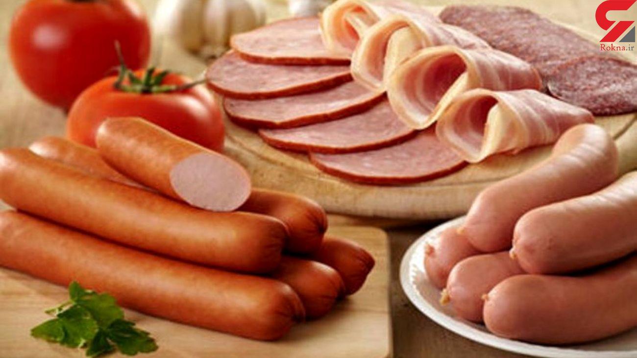 ژامبون؛ کیلویی ۲۷۰هزار تومان  قیمت سوسیس و کالباس از گوشت فراتر رفت
