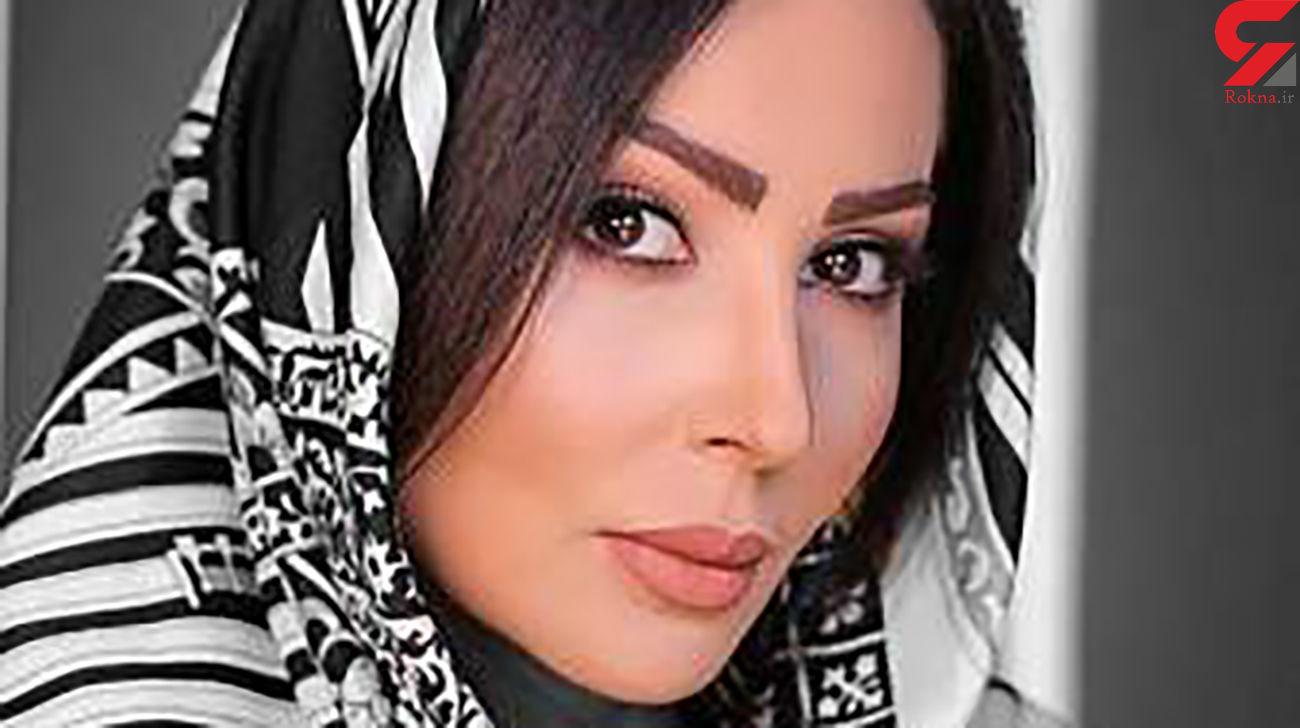 پرستو صالحی از ایران رفت ! / سخت بود ! + عکس