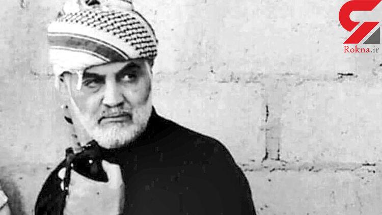 درخواست حلالیت سردار شهید سلیمانی از یک داعشی + فیلم