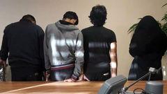 لیلا رییس باند دزدان میلیاردی تهران بود / 3 پسر نوچه هایش بودند +عکس بعد دستگیری