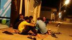 عکس اهالی شوش بعد از زلزله ۴.۶ ریشتری دیشب +عکس