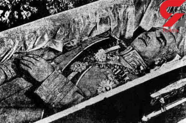 Image result for عکس پیدا شده مومیائی رضا شاه
