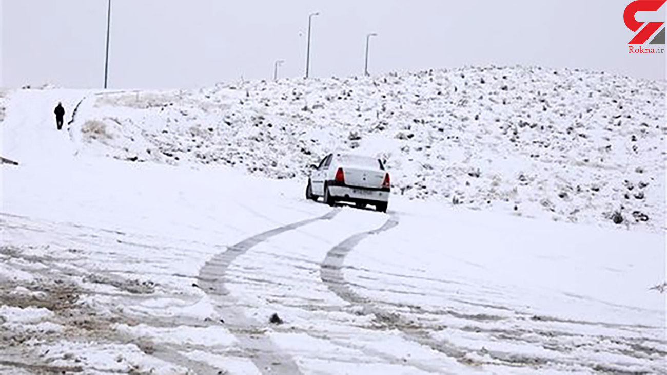 ارتفاع برف در کوهرنگ به ۴۲سانتیمتر رسید