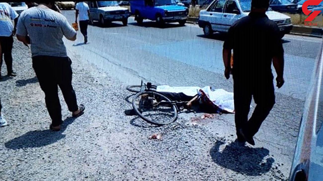 عکس جنازه مرد طبسی وسط خیابان